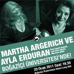 Martha Argerich ve Arkadaşları Boğaziçi Üniversitesi`nde