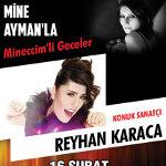 Mineccim`li Geceler - Konuk Sanatçı Reyhan Karaca