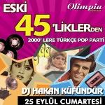Eski 45liklerden 2000lere Türkçe Pop Partisi