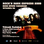Rockn Dark Express 2009 Rock Müzik Yarışması İstanbul Finali