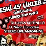 Eski 45`liklerden Günümüze Türkçe Pop Parti