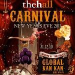 Yılbaşı Gecesi Karnaval Havasıyla The Hall´da Kutlanacak!