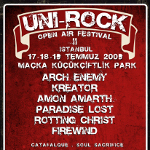 Unirock Festival `09 - 2. Gün - Arch Enemy