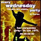 Wednesday Party 70s, 80s, 90s, 00s