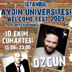 Aydın Üniversitesi Welcome Fest