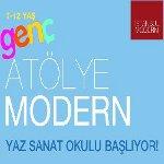 Genç Atölye Modern Yaz Sanat Okulu Başlıyor!