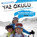 Yaz Sıcağından Bunalanlar Torium Snowpark'ın Yaz Okulunda Serinleyecek