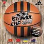 Basketbolun Devleri, Avrupa Şampiyonası Öncesinde Adidas İstanbul Cup 2011 İçin Sahada!