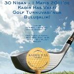 Geleneksel Kadir Has Vakfı Golf Turnuvası'nın Üçüncüsü Gerçekleştiriliyor