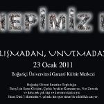Hrant Dink Boğaziçi Üniversitesi'nde Hepimiz III Etkinliğiyle Anılacak