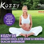 Mustela İle Bebeğim Olacak Seminerleri 27 Ocak Ve 5 Şubat Tarihlerinde Kozzy Alışveriş Ve Kültür Merkezi'nde