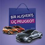 ´Bir Alışveriş Üç Peugeot` Kampanyası İle Torium Yeni Yıla Şans Dağıtarak Başlıyor