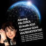 Ünlü Astrolog Filiz Özkol 2011 Yılını Via/Port´ta Yorumluyor