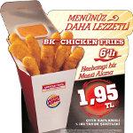 BK Chicken Fries ile Menünüz Daha Lezzetli