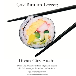 Divan City Brasserie'den Konichiwa İstanbul