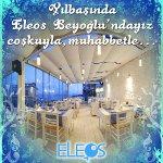 2011 Yılbaşı Gecesi Eleos Beyoğlu´nda Eğlenceye Hazır Olun