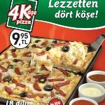 4 Köşe Pizza, Lezzetten Dört Köşe