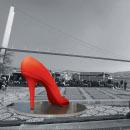 Shoe Art İstanbul 2008 Dev Ayakkabı Heykelleri