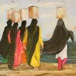Leman Efser Zorlu`nun ´İçimdeki Renkler´ Resim Sergisi
