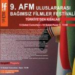 !f istanbul 9. AFM Uluslararası Bağımsız Filmler Festivali