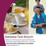 Crowne Plaza İstanbul Asia'da Babalar Günü Brunch'ı