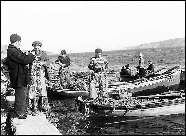 Boğaz`da Balık Avı