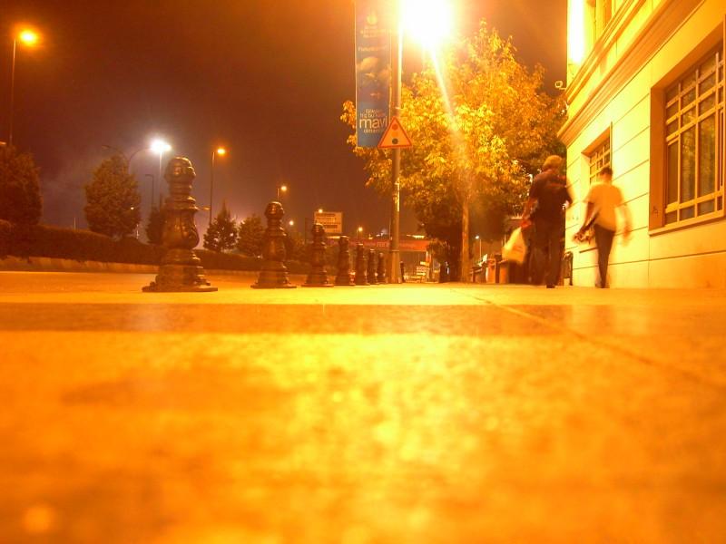 Eminönü`nde Gece - Arif Aydoğmuş