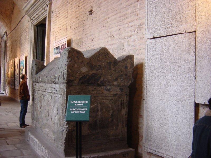 İmparatoriçe Lahdi (Ayasofya) - Atilla Yumuşakkaya