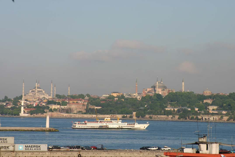 İstanbul Boğazı - Blick von Çiçekçi