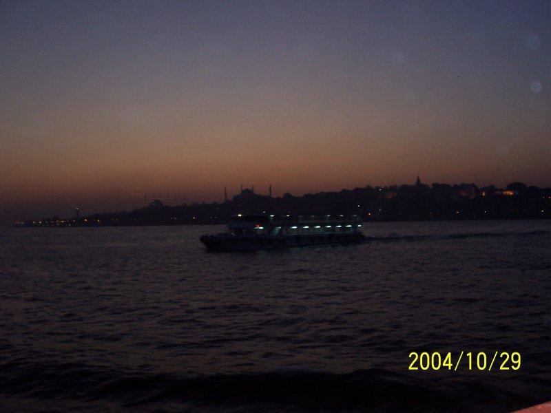 İstanbul`da Günbatımı - Burcu Mıhçıoğlu