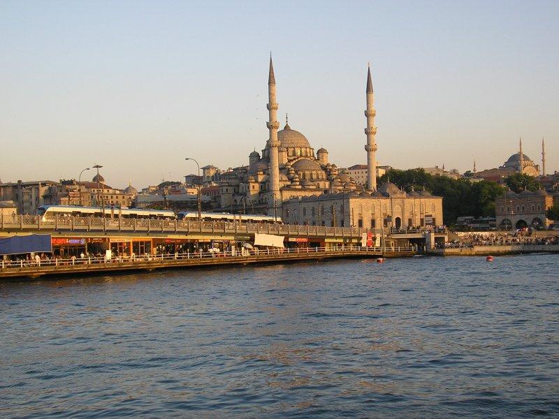Galata Köprüsü & Yeni Cami - Ebru Çömlekçi