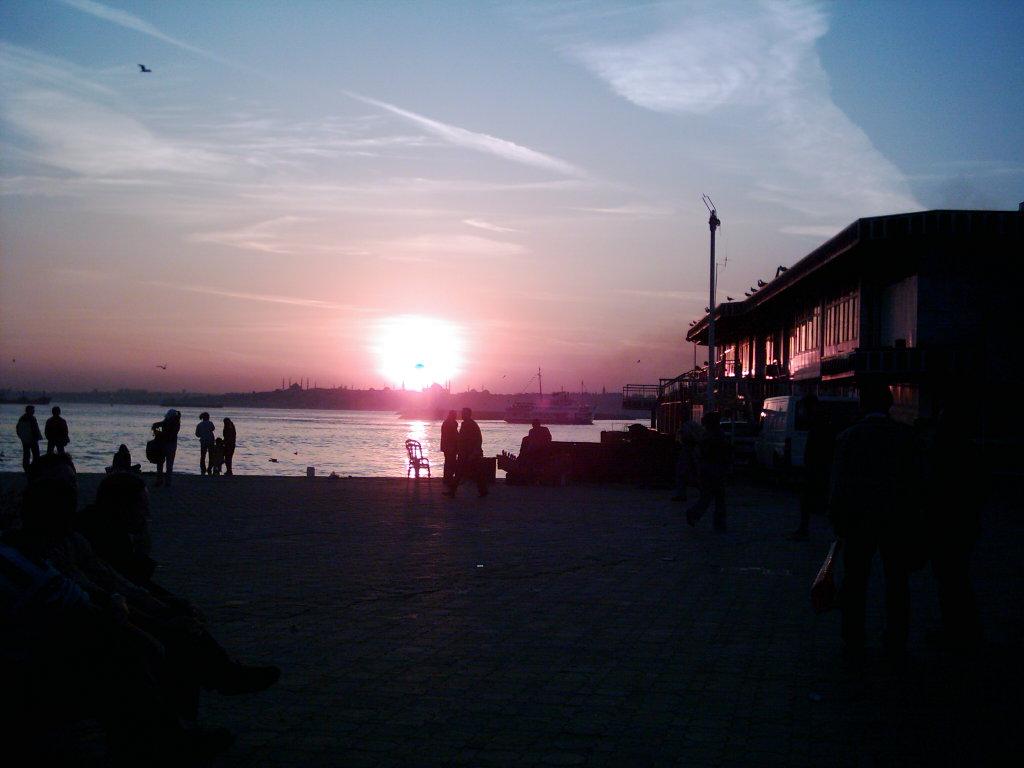Kadıköy`den Gün Batımı - Hüseyin Coşkun