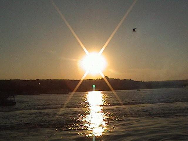İstanbul`da Gün Batımı - Kaan Temizer