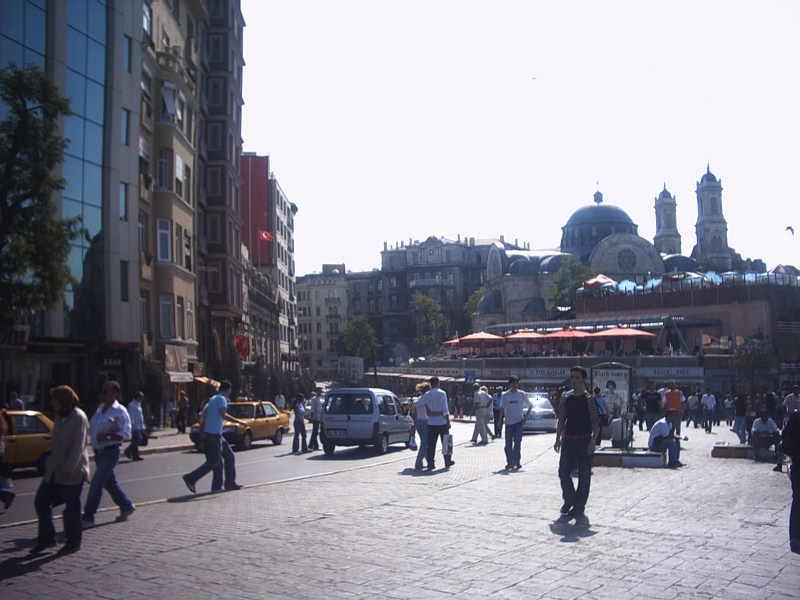 Taksim Meydanı - Seçil Ayaz