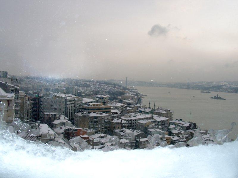 İstanbul`da Kış - Sinan Küçükoğlu