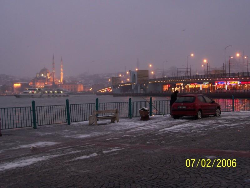 Galata Köprüsü ve Yeni Cami - Ekrem Aydar