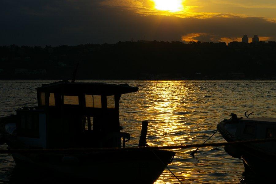 Çengelköy`de Gün Batımı - Fatih Yılmaz