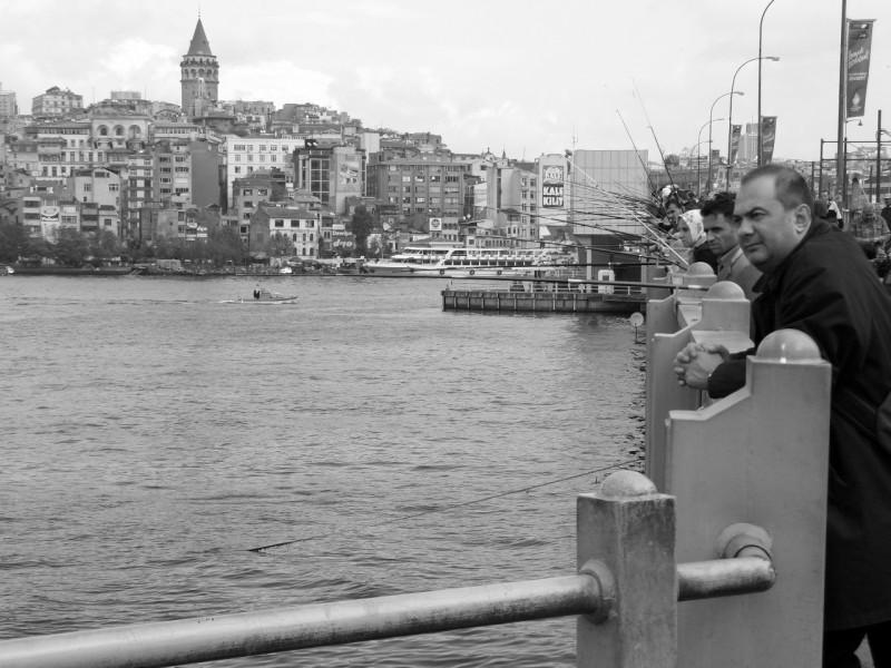 Galata Köprüsü`nden Galata - Gökhan Özkan