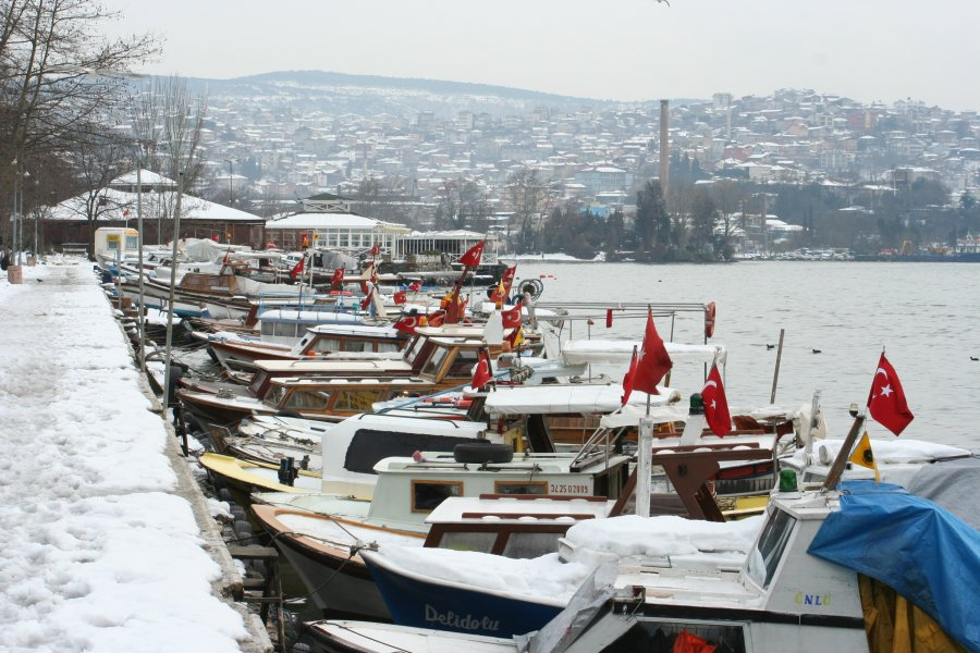 Beykoz`dan Kar Manzarası - Vural Akman