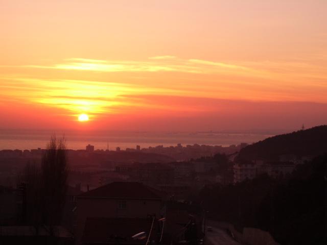 İstanbul`da Gün Batımı - Yılmaz Atay