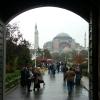 Sultanahmet`ten Ayasofya`ya Bakış