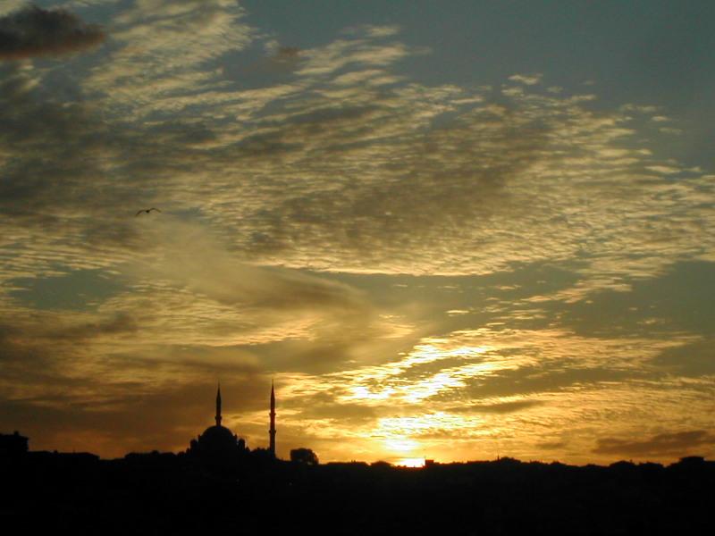 İstanbul`da Gün Batımı > Yusuf Boztepe