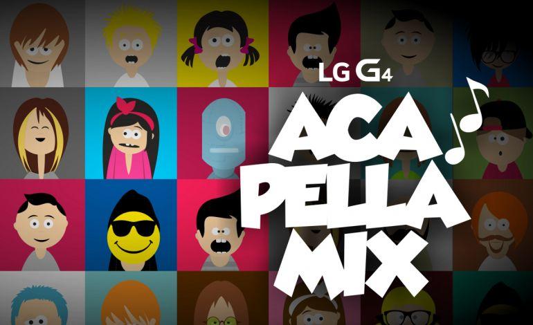LG G4 Acapella Mix ile Kendi Melodinizi Yaratın
