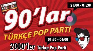 90'lar 2000'ler Türkçe Pop Parti