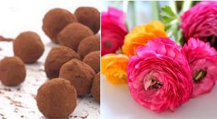 Mükemmel İkili: Çikolata ve Çiçek