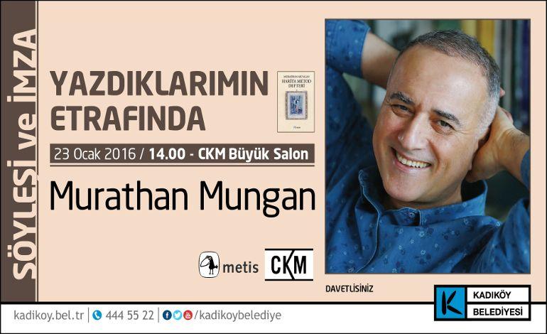 Murathan Mungan 'Defter'i ile Kadıköy'e Geliyor