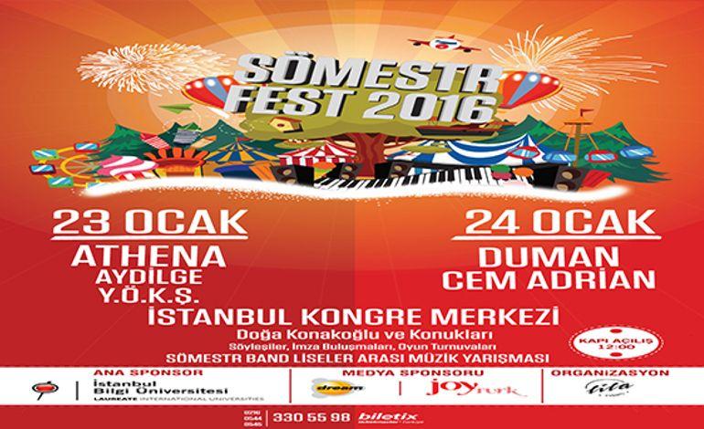 Sömestr Fest 2016 - 1. Gün