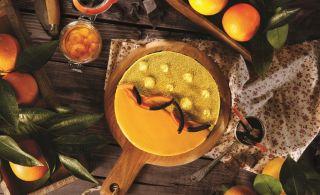 Kış güzeli: Portakallı Pasta
