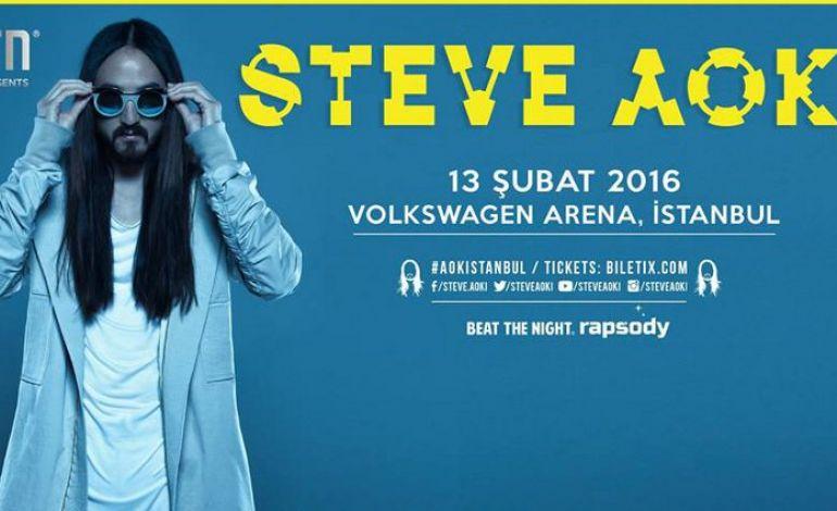 Burn Presents: Steve Aoki
