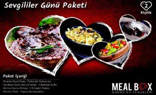 Romantizmin Yolu Meal Box'tan Geçiyor